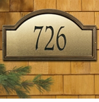 Whitehall  Providence Artisan Metal  Address Plaques