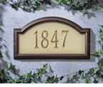Whitehall  Providence Artisan Stone  Address Plaques