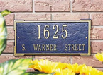 Whitehall  Roanoke Address Plaques