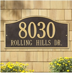 Whitehall  Rolling Hills   Address Plaques