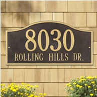 Whitehall Rolling Hills Plaques Grand Wall Two Line