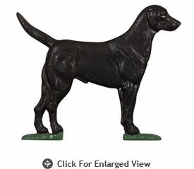 "Whitehall Rooftop or Garden 30"" Black Lab Weathervanes"