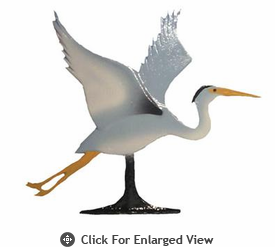 "Whitehall  Rooftop or Garden 30"" Blue Heron Weathervanes"