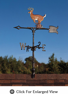 "Whitehall  Rooftop or Garden 30"" Buck Weathervanes"