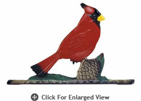 "Whitehall Rooftop or Garden 30"" Cardinal Weathervanes"