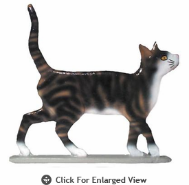 "Whitehall  Rooftop or Garden 30"" Cat Standing Weathervanes"