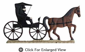 """Whitehall  Rooftop or Garden 30"""" Country Doctor Weathervanes"""