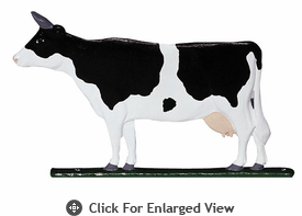 "Whitehall Rooftop or Garden 30"" Cow Weathervanes"