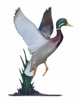 "Whitehall  Rooftop or Garden  30"" Duck Weathervanes"