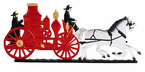 "Whitehall  Rooftop or Garden  30"" Fire Wagon Weathervanes"