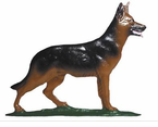 "Whitehall   Rooftop or Garden  30"" German Shepherd Weathervanes"