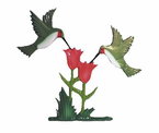 "Whitehall   Rooftop or Garden  30"" Hummingbirds Weathervanes"