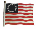 "Whitehall   Rooftop or Garden  30"" Liberty Flag Weathervanes"
