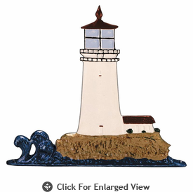 "Whitehall  Rooftop or Garden 30"" Lighthouse Weathervanes"