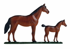 "Whitehall   Rooftop or Garden  30"" Mare & Colt Weathervanes"