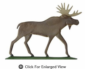 "Whitehall Rooftop or Garden 30"" Moose Weathervanes"