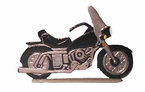 "Whitehall Rooftop or Garden 30"" Motorcycle Weathervanes"