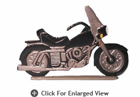 "WhitehallRooftop or Garden30"" Motorcycle Weathervanes"