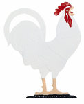 "Whitehall   Rooftop or Garden  30"" Rooster Weathervanes"