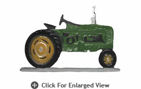 "Whitehall Rooftop or Garden 30"" Tractor Weathervanes"