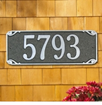 Whitehall  Saint Pierre  Address Plaques