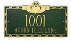 Whitehall   Specialty Address Plaques
