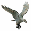 "Whitehall Traditional Directions Collection 30"" Full-Bodied Eagle Weathervanes"