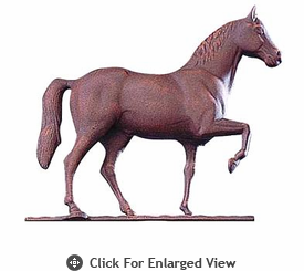 """Whitehall  Traditional Directions Collection 30"""" Full-Bodied Horse Weathervanes"""