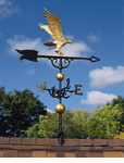 "Whitehall  Traditional Directions Collection  46"" Full-Bodied Eagle Weathervanes"