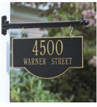 Whitehall  Two-Sided  Address Plaques and Signs
