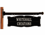 Whitehall  Two-Sided Address Signs