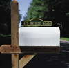 Whitehall  Two-Sided Mailbox Arch Address Marker