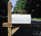 Whitehall Two-Sided Mailbox Scroll Address Marker