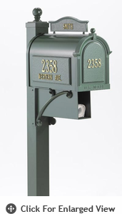 Whitehall Ultimate Mailbox Green