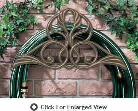 Whitehall Victorian Hose Holder  French Bronze
