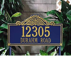 Whitehall  Villa Nova  Address Plaques