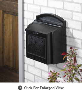 Whitehall  Wall Mailboxes Black
