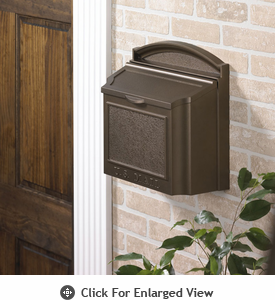 Whitehall  Wall Mailboxes Bronze