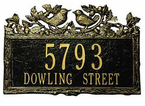 Whitehall  Woodland Wren  Address Plaques