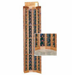 Wine Cellar Innovations  Curved Corner Wine Cellar Rack