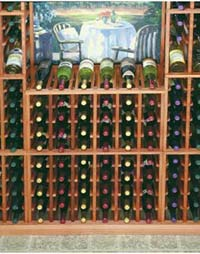 Wine Cellar Innovations Individual Half Height Wine Cellar Rack