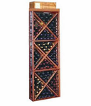 Wine Cellar Innovations  Open Diamond Cube  Wine Cellar Rack