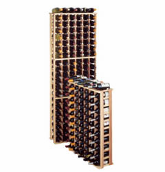 Wine Cellar Innovations Premium Redwood Wine Cellar Rack Half Individual Bottle