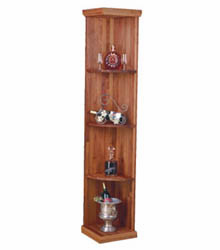 Wine Cellar Innovations Quarter Round Wine Cellar Display Shelf