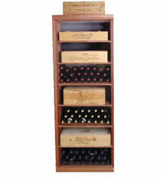 Wine Cellar Innovations Rectangular Bin and Case Wine Cellar Rack
