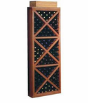 Wine Cellar Innovations  Wine Cellar  Solid Diamond Cube w/ Face Trim