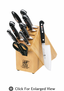 "Zwilling J.A. Henckels TWIN Pro ""S"" 10 Piece Knife Block Set"