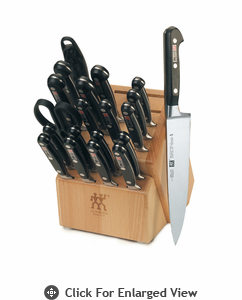 "Zwilling J.A. Henckels TWIN Pro ""S"" 21 Piece Knife Block Set"