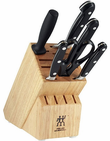 "Zwilling J.A. Henckels <br>TWIN Pro ""S"" <br>Special Offer <br>7 Piece Knife Block Set"