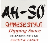 Ah-So Chinese Style Sweet & Tangy Dipping Sauce 11 oz.